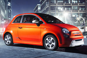 Fiat Electrifies the 500e in LA