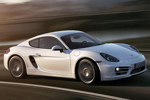 Porsche Reveals New Cayman in LA