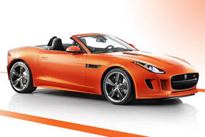 Jaguar F-Type Debuts in LA with New Design Packs