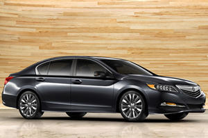 Acura Unveils Production RLX Sedan in LA