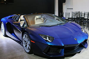 Lamborghini Aventador Roadster Pops Up in LA