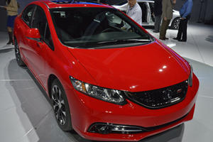 Honda Unveils 2013 Civic in LA