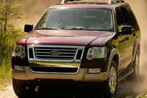 Famous for Catching Fire: Ford Explorer