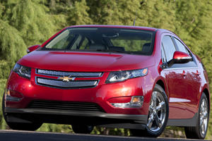 Famous for Catching Fire: Chevrolet Volt