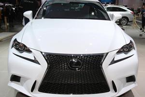 2014 Lexus IS Unveiled in Detroit