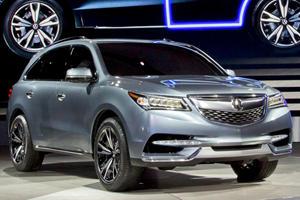 Acura Reveals its MDX Prototype