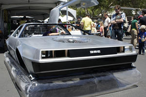 No Hoverboards? Try this DeLorean Hovercraft