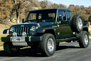 Jeep Wrangler Pickup Still Possible