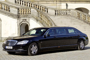 Armored Opulence: Mercedes-Benz S 600 Pullman Guard