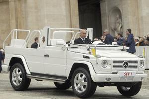 Armored Opulence: Popemobile