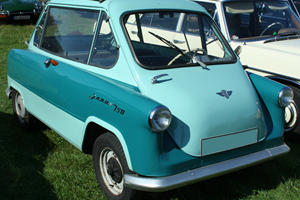 Horrible Small Cars: Zundapp Janus