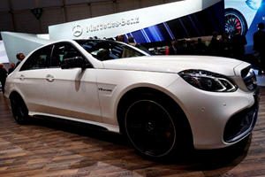 Harris Drives E63 AMG in Geneva