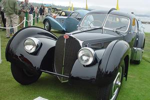 Sexualized Cars: Bugatti 57 Atlantic
