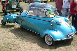 Three-Wheeled Cars: Messerschmitt KR175