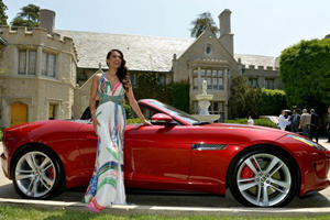 Playmate of the Year Gets a Jag