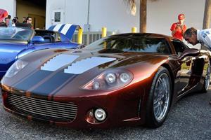 Factory Five's Rare GTM Supercar Draws Crowds