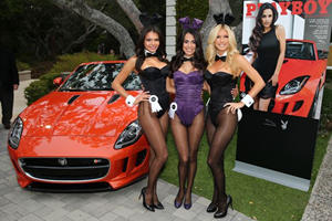 Jaguar and Playboy Party Hard at Pebble Beach