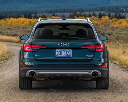 2018 Audi A4 allroad 2.0 TFSI Prestige quattro Wagon Exterior