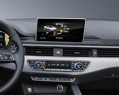 2018 Audi A5 Prestige quattro Convertible Center Console