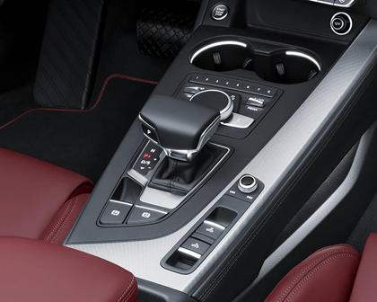 2018 Audi A5 Prestige quattro Convertible Shifter Shown