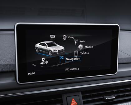 2018 Audi A5 Prestige quattro Coupe Center Console