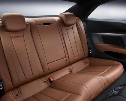 2018 Audi A5 Prestige quattro Coupe Rear Interior