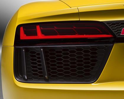 2017 Audi R8 V10 quattro Spyder Convertible Exterior Detail