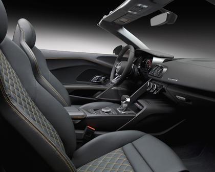 2017 Audi R8 V10 quattro Spyder Convertible Interior