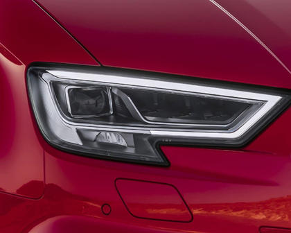 2018 Audi RS 3 quattro Sedan Headlamp Detail