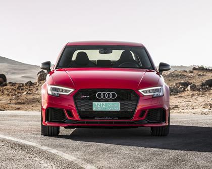 2018 Audi RS 3 quattro Sedan Exterior