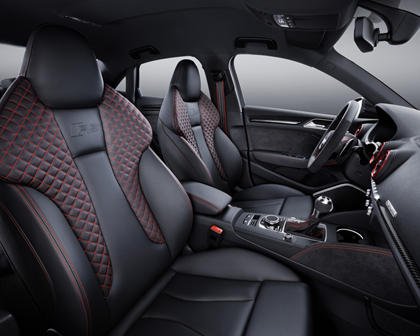 2018 Audi RS 3 quattro Sedan Interior