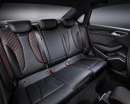 2018 Audi RS 3 quattro Sedan Rear Interior