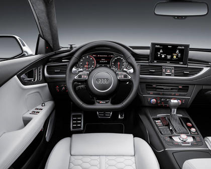 2017 Audi RS 7 Prestige quattro Sedan Dashboard