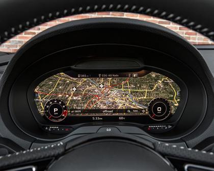 2017 Audi S3 2.0 TFSI Prestige quattro Sedan Navigation System