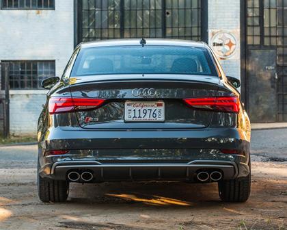 2017 Audi S3 2.0 TFSI Prestige quattro Sedan Exterior