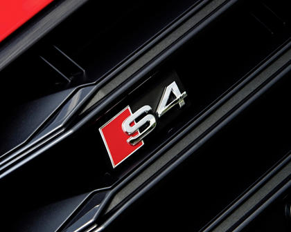 2018 Audi S4 Prestige quattro Sedan Front Badge
