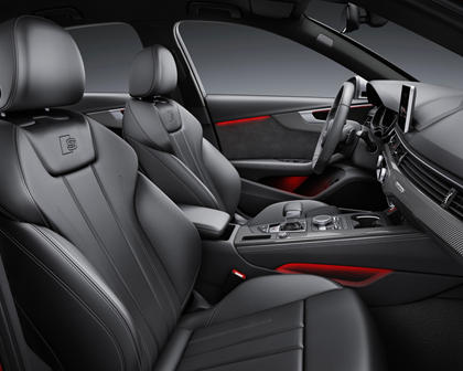 2018 Audi S4 Prestige quattro Sedan Interior European Model Shown.