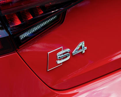 2018 Audi S4 Prestige quattro Sedan Rear Badge