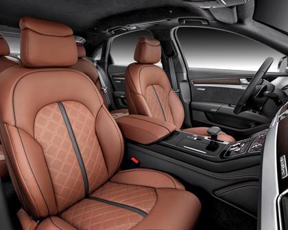 2017 Audi S8 plus quattro Sedan Interior