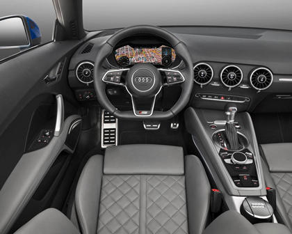 2017 Audi TT 2.0T quattro Roadster Interior