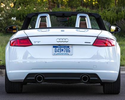 2017 Audi TT 2.0T quattro Roadster Exterior