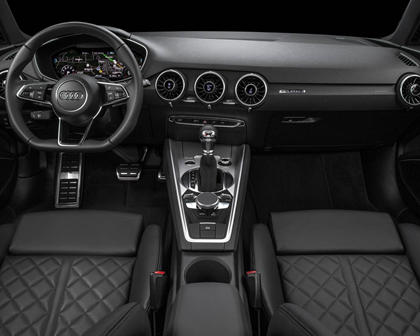2017 Audi TT 2.0T quattro Coupe Dashboard