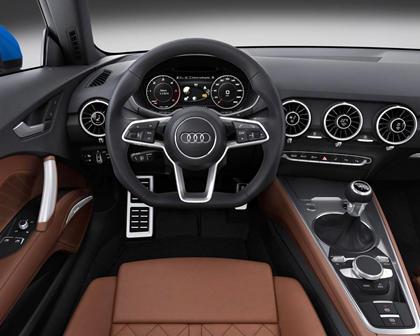 2017 Audi TT 2.0T quattro Coupe Interior