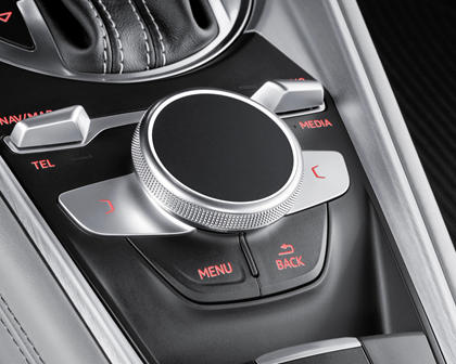 2016-2018 Audi  TTS Coupe Aux Controls