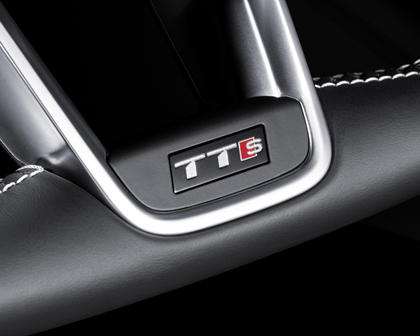 2016-2018 Audi  TTS Coupe Steering Wheel Details