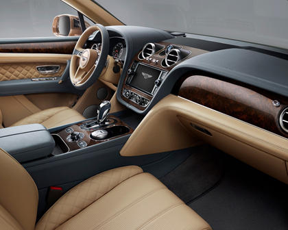 2017 Bentley Bentayga 4dr SUV Interior