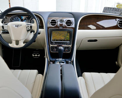 2017 Bentley Flying Spur W12 Sedan Dashboard