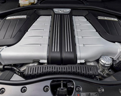 2017 Bentley Flying Spur W12 Sedan 6.0L V12 Turbo Engine
