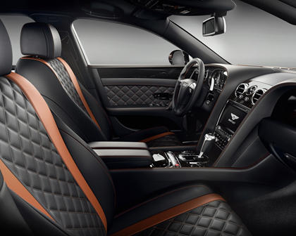 2017 Bentley Flying Spur W12 S Sedan Interior