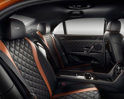 2017 Bentley Flying Spur W12 S Sedan Rear Interior